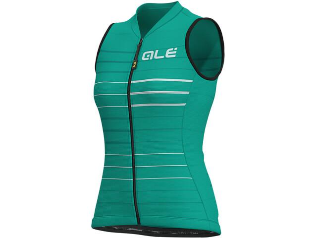 Alé Cycling Solid Ergo Koszulka bez rękawów Kobiety, emerald